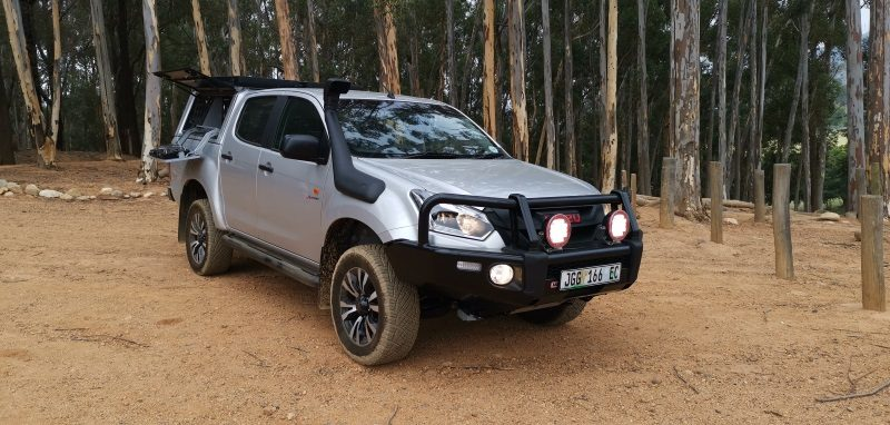 An Isuzu Kitted for Camping!